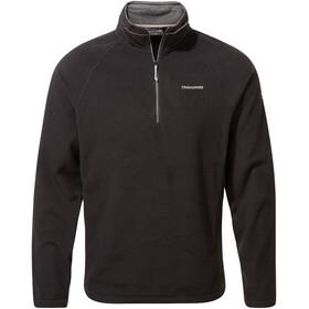 Craghoppers Corey VI Half Zip Shirt Men, black